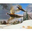 Christmas 1965 (Pheasants)--Copyright 1990 - 16 ¼ x 20 ¼